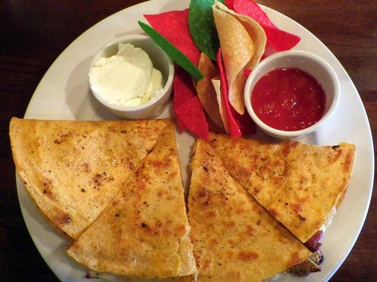 Chophouse of Hiawassee: quesadilla