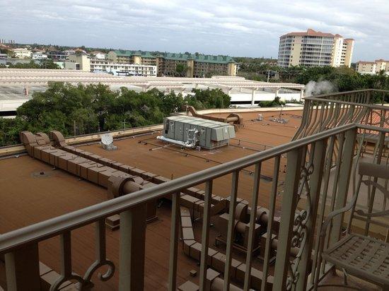 ذا ريتز - كارلتون نابولي:                   View from room 417                 