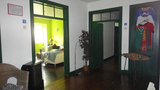 Lisbon Old Town Hostel:                   Upstair
