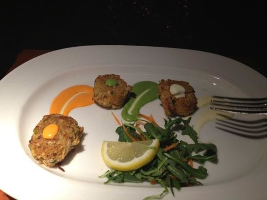 Firestone Walker Brewing Company :                   crab cakes