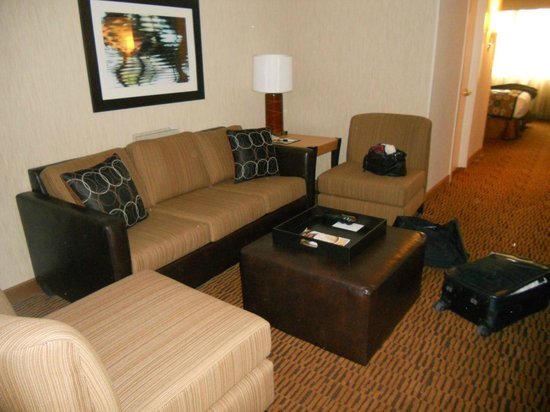 DoubleTree Suites by Hilton Minneapolis:                   Living room