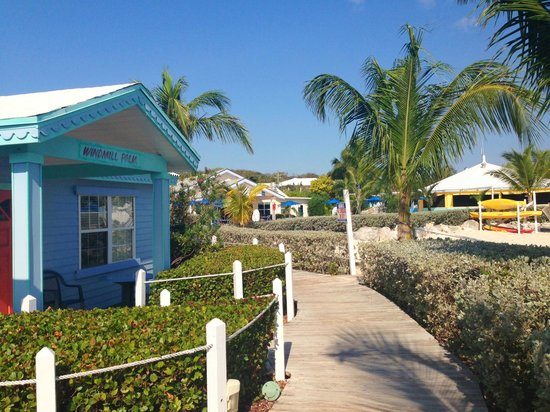 George Town, Great Exuma: the cottages look like this!