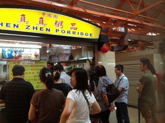 Zhen Zhen Porridge : long queue