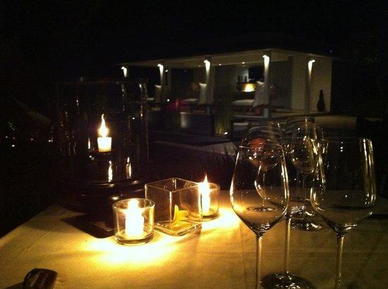 The Lombok Lodge:                   dinner venue