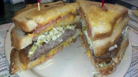 The Metro Diner: The Vortex Burger!