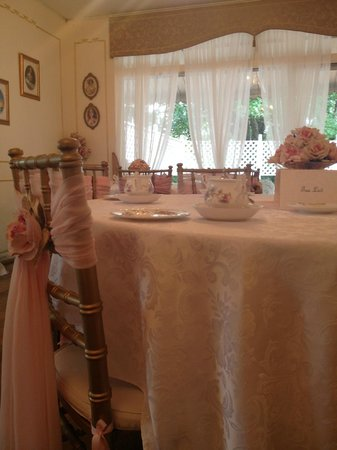 Tea & Niceties:                   Table