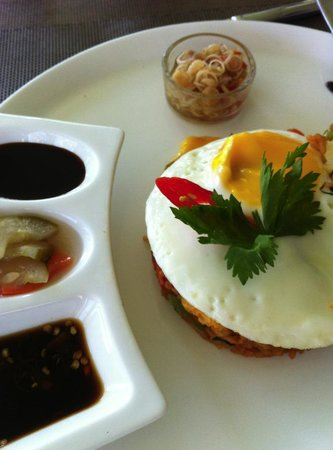 The Lombok Lodge:                   favourite nasi goreng
