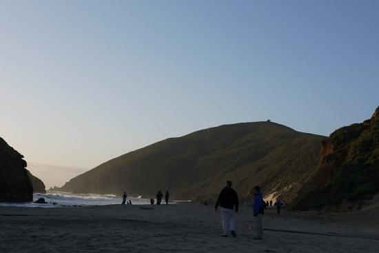 Pfeiffer Beach:                   beach