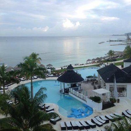Secrets St. James Montego Bay:                   Balcony View Bldg 3 5th Flr