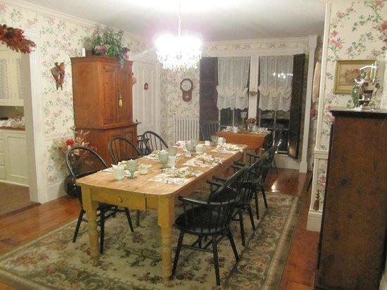 Camden, ME: Dining Room