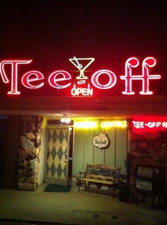 Tee-Off: Front Door!