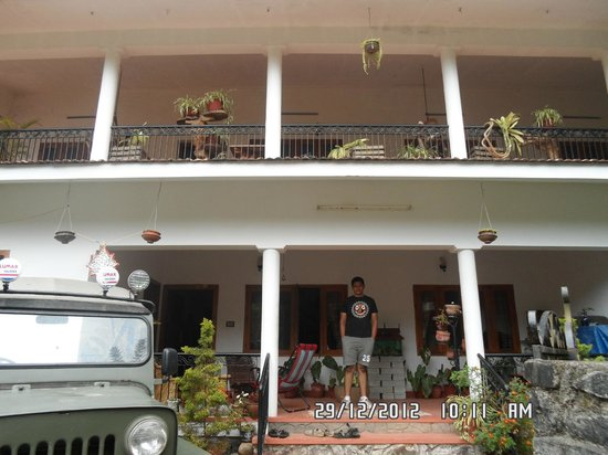 Oasis Homestay:                   Front view of OAsis Home Stay
