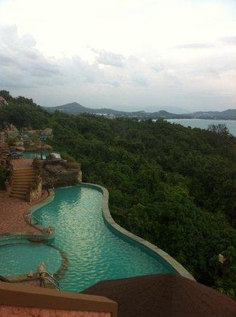 Samui Bayview Resort & Spa:                   vue de notre chambre