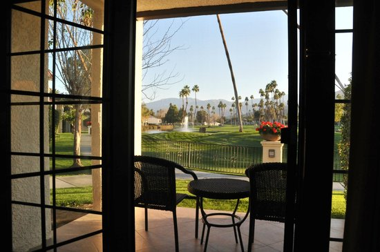 Omni Rancho Las Palmas Resort & Spa:                   View from my room.