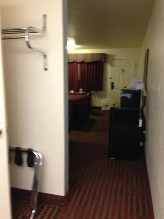 Motel 6 Lordsburg NM:                   From the dressing area