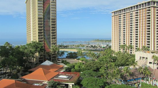 Hilton Hawaiian Village Waikiki Beach Resort:                   Tapa Tower view