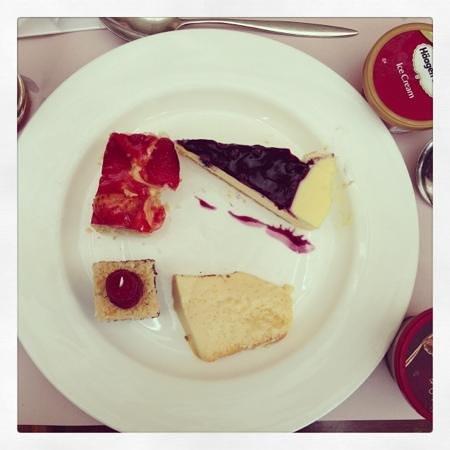 Promenade:                   cakes