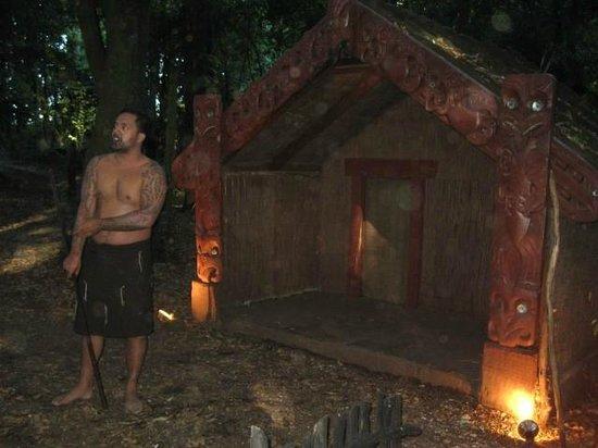 Tamaki Maori Village:                   show