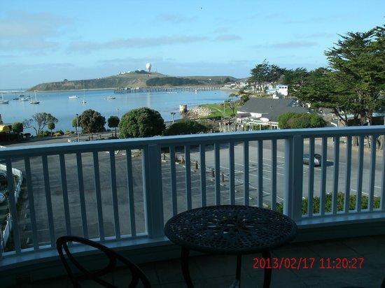 Oceano Hotel & Spa Half Moon Bay:                                     Balcony View