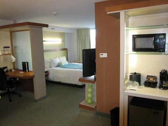 سبرنجهيل سويتس باي ماريوت فلاجستاف: King Suite at the SpringHill Suites Flagstaff