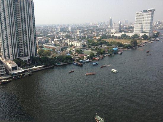 Shangri-La Hotel,Bangkok: Horizon Club view