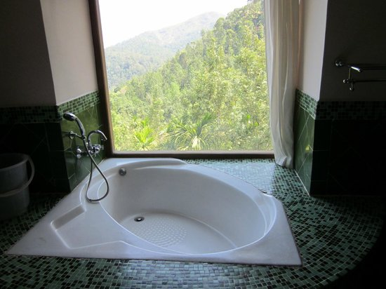 Citrus Thekkady Wild Corridor: Bath with a view