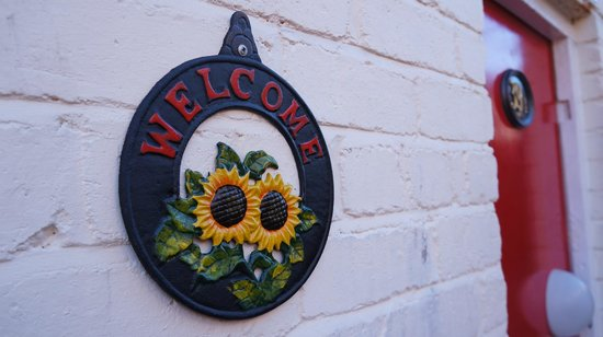 The Old Dairy Guest House:                   welcome