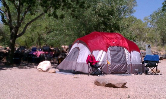 Zion River Resort: Campsite