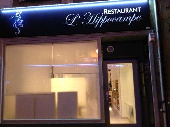 Sarreguemines, Frankreich:                   Entrée du restaurant