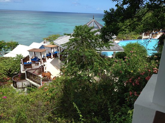 Calabash Cove Resort and Spa:                   View from suite 209