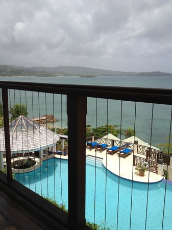 Calabash Cove Resort and Spa:                   View from resturant