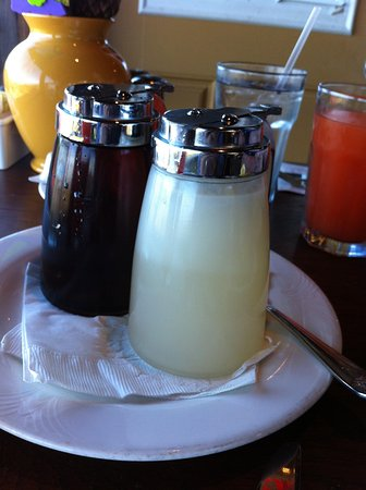 The Kula Lodge: coconut syrup