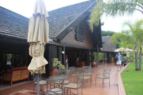 InterContinental Tahiti Resort & Spa:                                     lobby