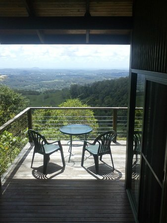 Treetops Seaview:                                     our balcony & the great view..