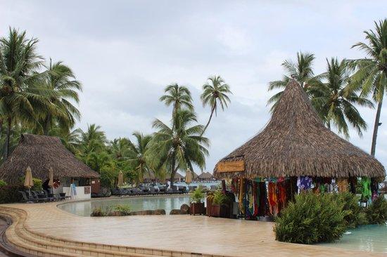 InterContinental Resort Tahiti:                                     outside