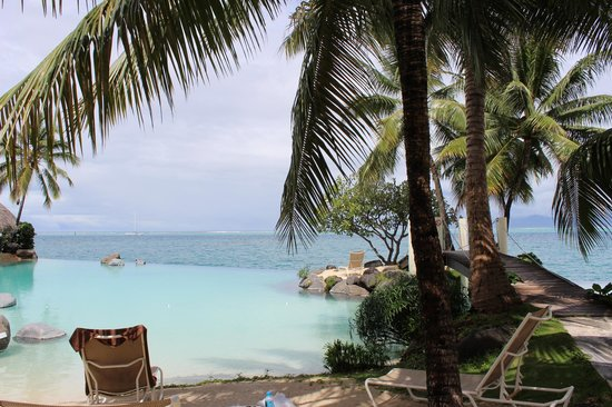InterContinental Resort Tahiti:                                     view