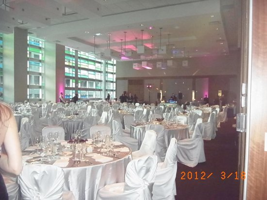 Coast Coal Harbour Hotel:                   パーティー会場