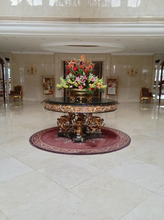 Celebrity International Grand Hotel Beijing:                   The Lobby of the Hotel