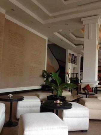 Tara Angkor Hotel:                   lobby hotel