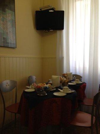 Hotel Santa Lucia:                   breakfast