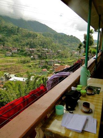 Banaue Homestay:                                     Balcony