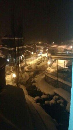 Aparthotel Poblado:                                     the view from our window
