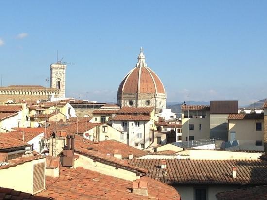 Hotel Degli Orafi:                   vista dalla terrazza