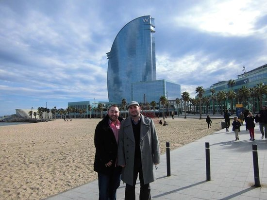 W Barcelona:                   c&j in W bcn