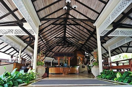 Cape Panwa Hotel:                                     reception/front desk, C Bldg