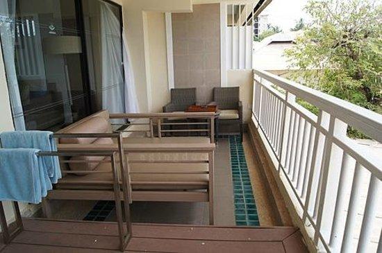 Cape Panwa Hotel:                                     comfy balcony