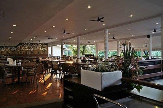 Cape Panwa Hotel:                                     Café Andaman – balcony side