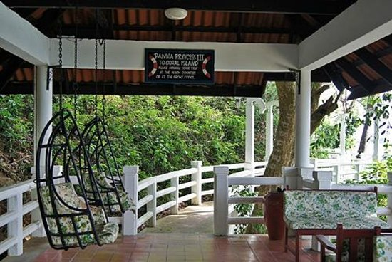 Cape Panwa Hotel:                                     walkway to jetty