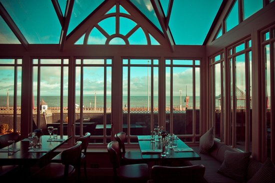 Tower Bistro: View from conservatory