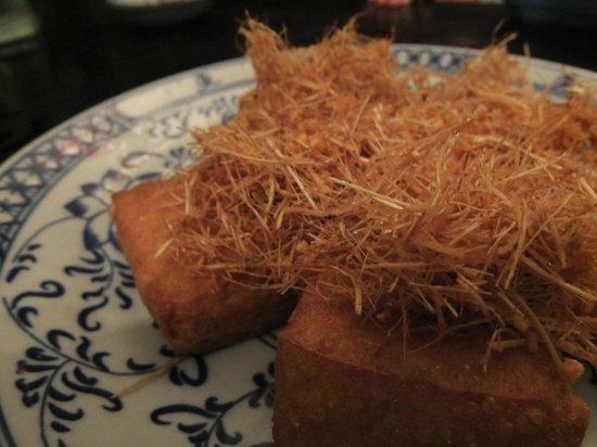 May Restaurant:                   the yummy Tofu